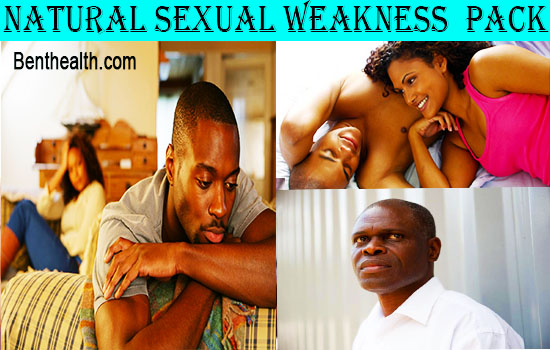 Natural Sexual Weakness Pack